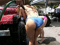 College Orgy Car Wash