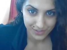 Arab Egypt Muslim Teen Masturbates In Stockings On Webcam
