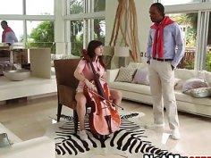 Gifted girl Paris Lincoln gets fucked in front of sexy stepmom Jazmyn