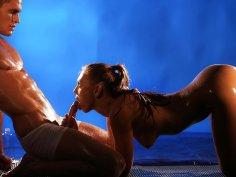 Divine Sex-Goddess uses Muscular Stud FemDom