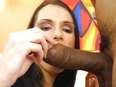 Interracial fellatio and 69 pose sex