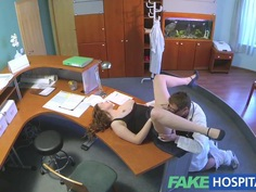 FakeHospital Doctors check makes assistants pussy wet