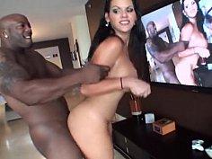 Big ass bitch getting big black cock